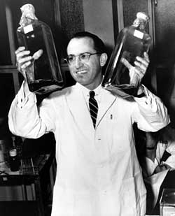 Salk, a scientist who believed in intuition is important for success