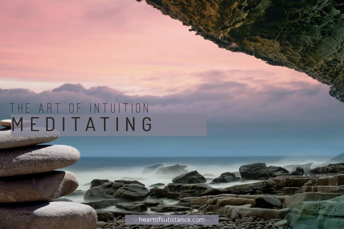 meditating for intuition development