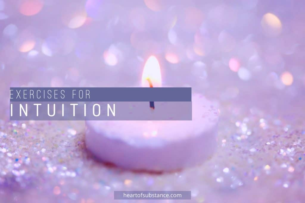 intuition exercises, train intuition, intuition training