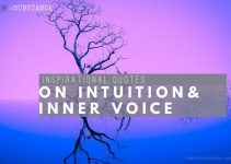 60+ Quotes On Intuition | Best Inner Voice Prompts [Text & Images]