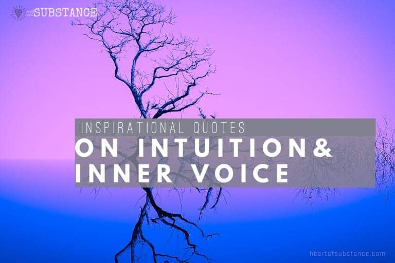 Quotes on intuition