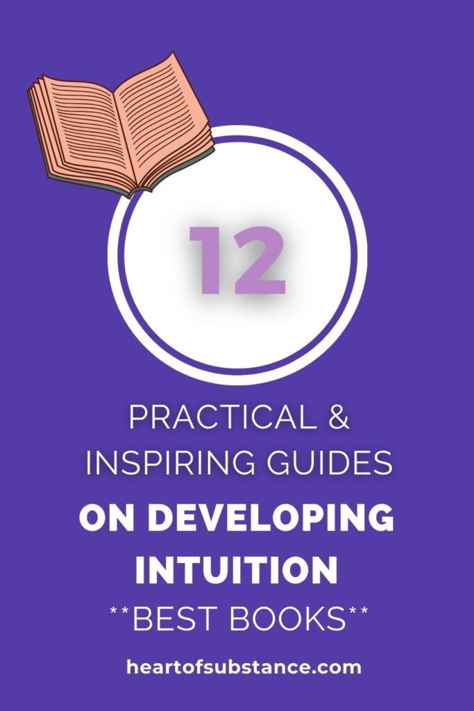 Best books on developing intuition, list includes practical guides with examples, exercises, and step-by-step instructions on how to develop your intuition